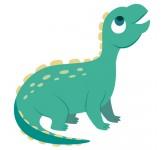 Historic lizard DINO